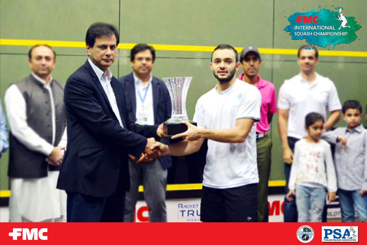 Youssef crowned FMC Int'l Squash champion
